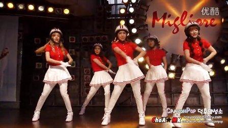 韩国 Crayonpop 蜡笔团美女组合热舞- Barbarbar 13060