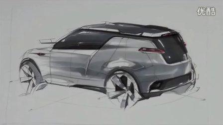 seok汽车设计马克笔手绘视频教程2