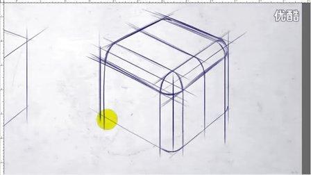 产品设计手绘正确倒角方法视频教学
