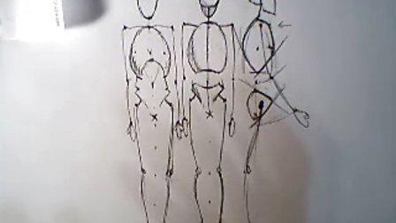 素描人体结构