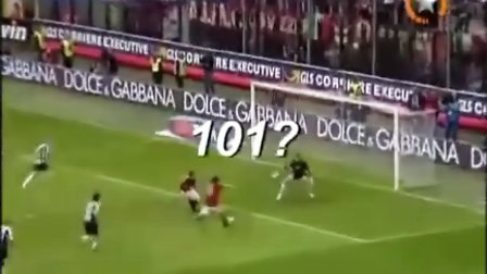 Pippo Inzaghi 100 Goals in ACMilan