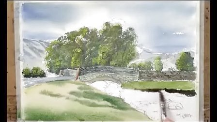 【失逝】水彩风景画教学视频