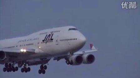 世界各大航空公司飞机降落