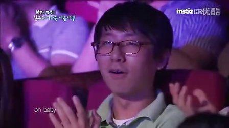 [TL]韩国性感美女组合Sistar.孝琳《不要离开我》KBS不朽的名曲2现场