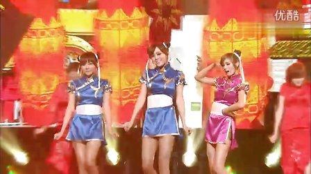 【星】Orange Caramel(橙子焦糖)《上海之恋》111105.韩语中字Live