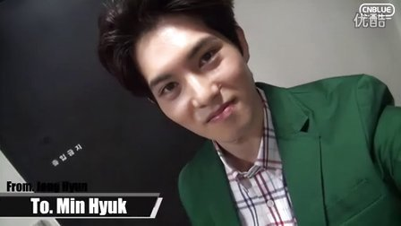 CNBLUE 4th Anniversary Message - JH TO MH