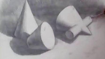 素描几何形体组合4