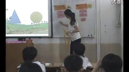 生活数学《认识三角形和圆形》启发类_小学微课视频