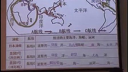 七年级地理优质课视频下册《中东》人教版_薛老师