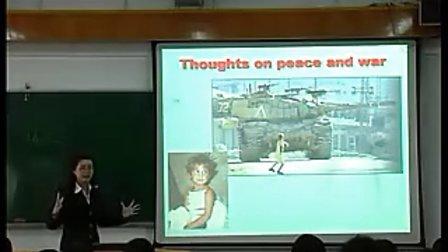 《War Memories》(2)(执教:林咏梅) 广东省新课程高中英语优质课评比