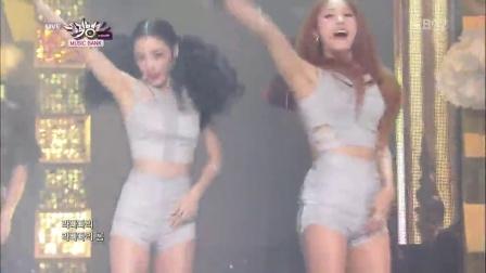[杨晃]韩国性感美女组合Kara最新热舞 Mamma Mia