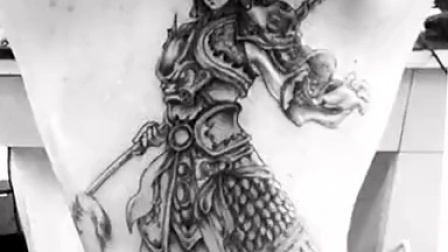 纹身图案 齐天大圣纹身手绘 > 【图】自己原创齐天大圣