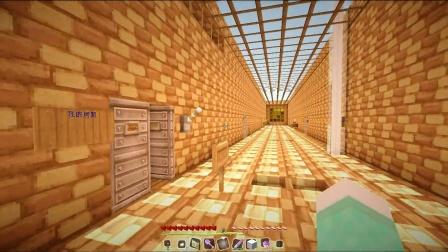 我的世界Minecraft大橙子五歌翔麟超中二多人解谜 月球上的恶魔