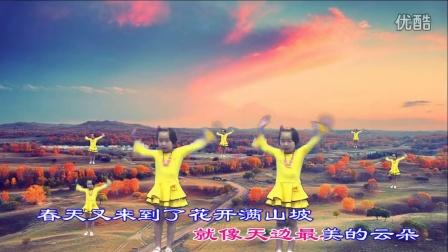 小苹果 漂亮的小宝贝舞蹈 歌词同步 1080PHD超清