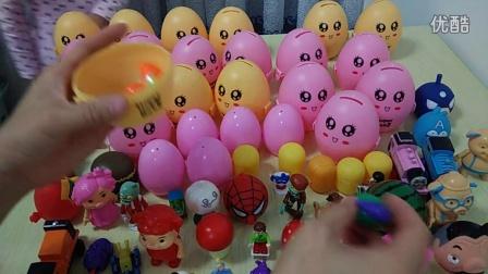 子游戏 奇趣蛋玩具蛋植物大战僵尸白雪公主愤怒的小鸟猪猪侠粉红猪