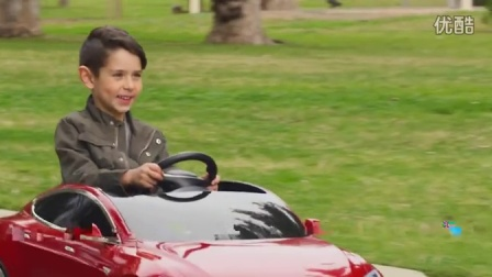 特斯拉Model S儿童玩具版电动车
