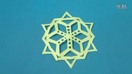 简单剪纸艺术 折纸王子 亲子游戏视频