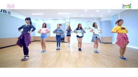 【风车·韩语】CLC《PEPE》2016新版舞蹈练习室
