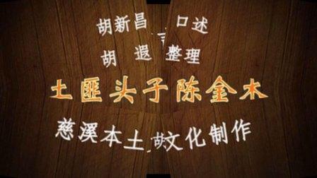 慈溪方言评书土匪头子陈金木合集之一(共五集)
