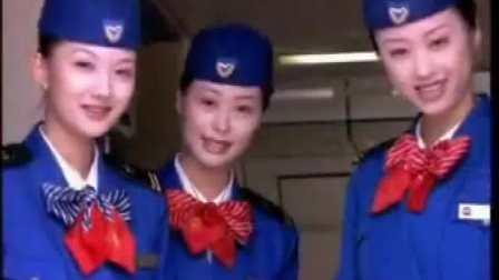 剪辑广告宣传-200X年中国北方航空广告·形象