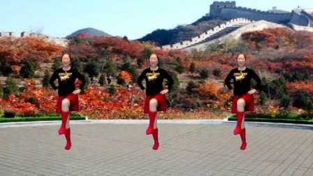 宜阳明萱广场舞 动感水兵舞 北京的金山上 编舞 春英