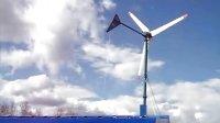 哈尔滨贝尔风力发电机安装现场