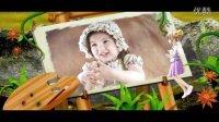 AE儿童3D电影相册[幻想国]自动模板
