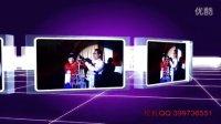 AE酷炫3D电影开场婚礼视频片头自动模板168