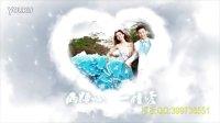 AE纯洁的爱情婚礼开场片头自动模板0138