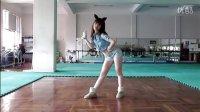 韩国妹纸可爱兔子舞小清纯妹子的舞场练习