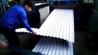 杭州彩钢瓦楼承板厂家推荐-奔驰4S展厅铝镁锰波纹墙板生产过程