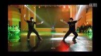 通化街舞能量正能量舞蹈出品2013万圣节中东广场演出poppin HipHop LA