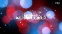 A00152--唯美光斑浪漫眩光优雅粒子展示AE模板