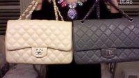 我的香奈儿经典包对比介绍 Chanel 2.55 和 Chanel Classic Flap