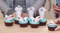 [木呆呆美味]鲨鱼杯子蛋糕
