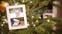 A00405--唯美温馨圣诞树实拍风格照片展示AE模板
