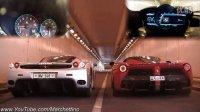两代旗舰拼声浪LaFerrari vs Ferrari Enzo INSANE Rev Battle