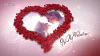 AE模板-浪漫心形玫瑰婚礼模板 VideoHive Heart Of Roses