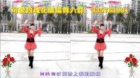 可爱玫瑰花广场舞【美丽的雪山姑娘】个人版正反面演示  原创