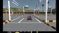 倒车入库倒桩学车视频 科目2曲线行驶连续弯道S路操作技巧方法