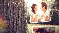 A0222清新的爱 梦幻浪漫美好爱情故事相册婚礼预告片AE模板