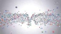 Flying Through Images Logo Reveal 众多图片汇聚logo AE模板