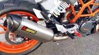 KTM DUKE 390 原厂改装部品 天蝎排气 Akrapovic exhaust
