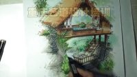 建筑手绘 园林景观手绘 室内手绘 规划手绘 产品手绘 马克笔上色