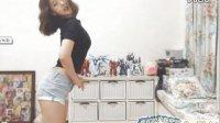 【韩国BJ】美女主播牛仔短裤热舞