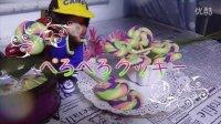 【手作りのお菓子工房】果子工房5七彩童趣棒棒糖饼干