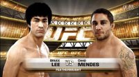 UFC 2014 PS4 李小龙 VS Chad Mendes