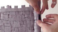 创意翻糖蛋糕 龙之城堡制作教程
