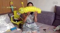 魔术气球毛毛虫 中大型毛毛中 免费视频教程 丽丽气球