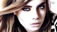 【藤缠楼】美女画家手绘英国超模卡拉·迪瓦伊画像 [Heather Rooney]